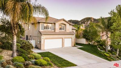 Stevenson Ranch Single Family Home Active Under Contract: 25626 Moore Lane