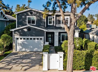 Los Angeles Single Family Home Active Under Contract: 3610 Barry Avenue