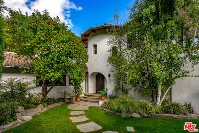 Los Angeles County Single Family Home For Sale: 3606 Mandeville Canyon Road