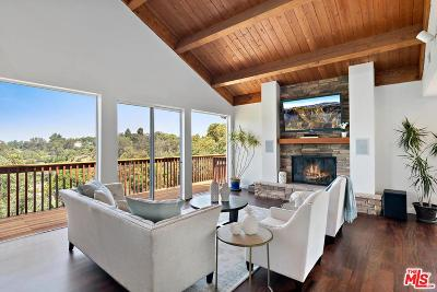 Los Angeles County Single Family Home For Sale: 7460 Mulholland Drive