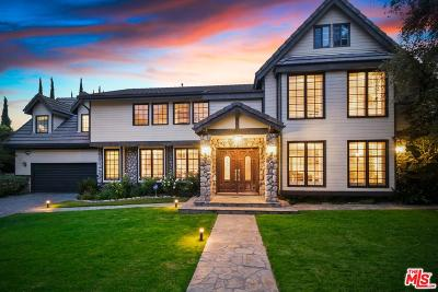 La Canada Flintridge Single Family Home For Sale: 4533 La Granada Way