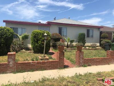 Compton Single Family Home For Sale: 1705 West Palmer Street