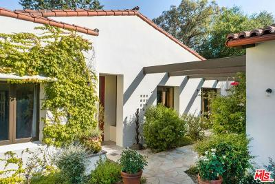 Calabasas Single Family Home For Sale: 25732 Vista Verde Drive