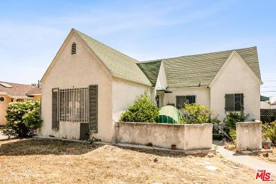 Single Family Home For Sale: 1742 South Wooster Street
