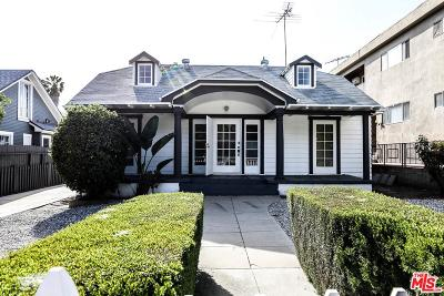 Los Angeles County Residential Income For Sale: 1017 North Gardner Street