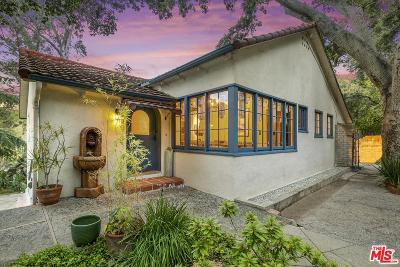 Altadena Single Family Home Active Under Contract: 3617 Canyon Crest Road