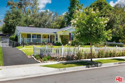 Altadena Single Family Home For Sale: 1173 Beverly Way