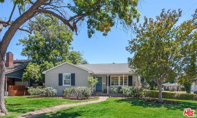 Sherman Oaks Single Family Home For Sale: 14030 Morrison Street