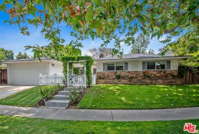 Pacific Palisades Single Family Home For Sale: 16315 Akron Street