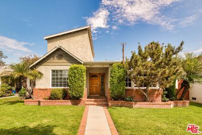 Los Angeles County Single Family Home Active Under Contract: 10975 Exposition