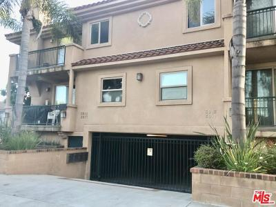 Culver City Condo/Townhouse For Sale: 3915 Bentley Avenue