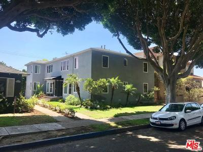 Santa Monica Condo/Townhouse Active Under Contract: 2320 Oak Street #1