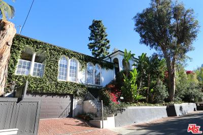 Los Angeles County Single Family Home For Sale: 2806 Nichols Canyon Road