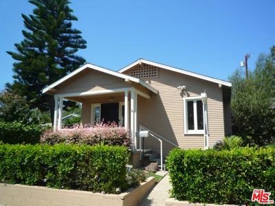 Venice Single Family Home For Sale: 833 Superba Avenue