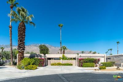 Palm Springs Condo/Townhouse Active Under Contract: 851 North Calle De Mimosas