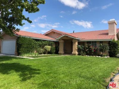 Lancaster Single Family Home For Sale: 3651 West Avenue J5