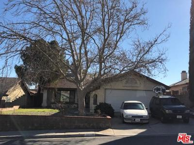 Palmdale Single Family Home For Sale: 36712 Apache Plume Drive