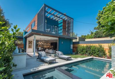 West Hollywood Single Family Home Active Under Contract: 8835 Rosewood Avenue
