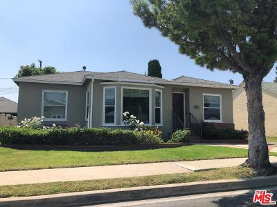 Culver City Single Family Home For Sale: 11209 Orville Street