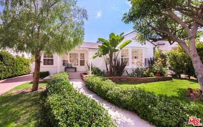 Santa Monica Single Family Home For Sale: 1110 Harvard Street