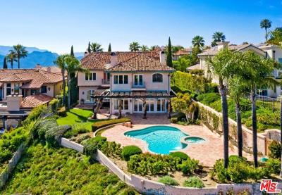 Pacific Palisades Single Family Home For Sale: 1821 Chastain