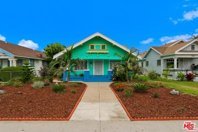 Los Angeles Single Family Home For Sale: 1448 West Vernon Avenue