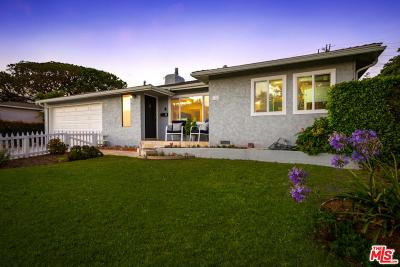 Los Angeles Single Family Home Active Under Contract: 3542 Tilden Avenue