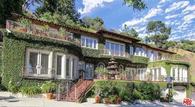 Los Angeles Single Family Home For Sale: 2636 La Cuesta Drive