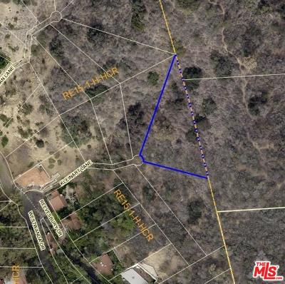 Los Angeles County Residential Lots & Land For Sale: 2425 North Kleinart Lane