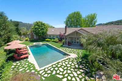 Pacific Palisades Single Family Home For Sale: 17620 Camino De Yatasto