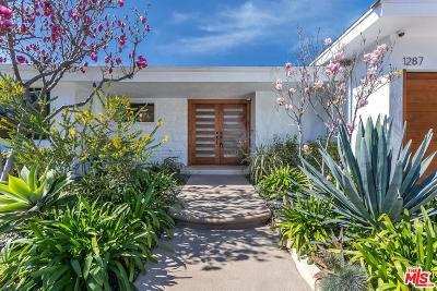 Single Family Home For Sale: 1287 Casiano Road