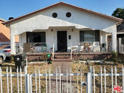 Los Angeles Single Family Home For Sale: 404 East 105th Street