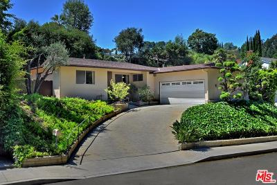 Studio City Single Family Home For Sale: 3242 Berry Drive