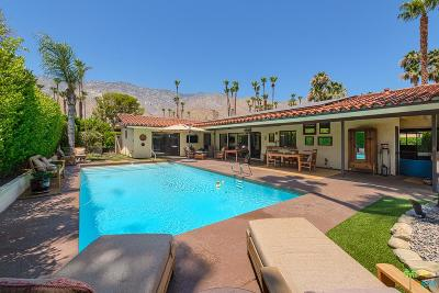 Palm Springs CA Single Family Home For Sale: $1,100,000