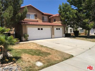 Lancaster Single Family Home For Sale: 42257 Sand Palm Way