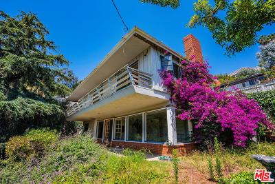 Pacific Palisades Single Family Home For Sale: 1357 Goucher Street