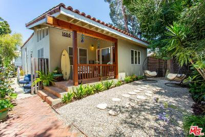 Venice Single Family Home For Sale: 1686 Electric Avenue