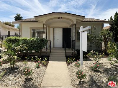 Glendale Single Family Home Active Under Contract: 328 West Garfield Avenue