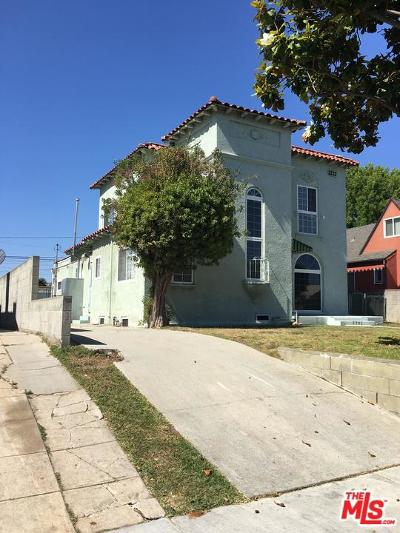 Inglewood Single Family Home Active Under Contract: 2207 West 78th Street