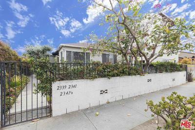 Residential Income For Sale: 2339 Abbot Kinney