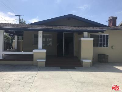 Los Angeles Single Family Home For Sale: 804 West 53 Street