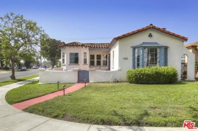 Los Angeles Single Family Home For Sale: 1200 West 79th Street
