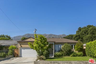 Altadena Single Family Home For Sale: 487 West Terrace Street