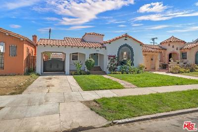 Los Angeles Single Family Home For Sale: 1044 West 80th Street