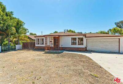 Los Angeles Single Family Home Active Under Contract: 10720 National Place