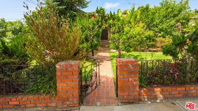 Los Angeles Single Family Home Active Under Contract: 4161 Sunnyside Avenue