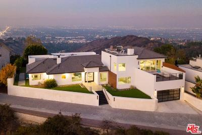Los Angeles Single Family Home For Sale: 14380 Mulholland Drive