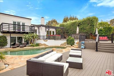 Malibu Single Family Home Active Under Contract: 18335 West Clifftop Way
