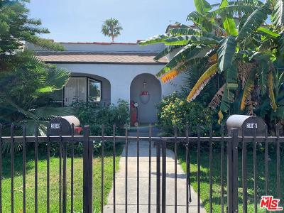 Los Angeles CA Single Family Home For Sale: $990,000