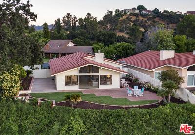 Calabasas Single Family Home For Sale: 4370 Park Corona